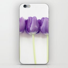 Purple Tulips iPhone Skin