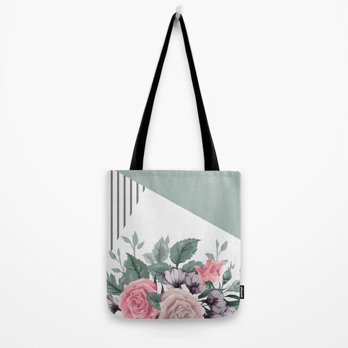 FLOWERS IX Tote Bag