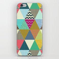 New York Beauty triangles iPhone & iPod Skin