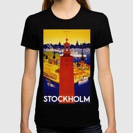 Vintage Stockholm Sweden Travel T-shirt