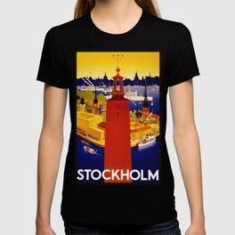Vintage Stockholm Sweden Travel T-shirt