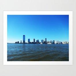 City view from Manhattan Art Print