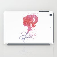 barbie iPad Cases featuring Barbie by Carma Zoe