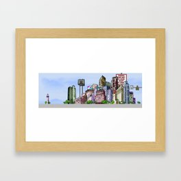 BUILDING SERIES 2 Framed Art Print