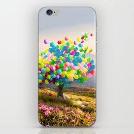 When Balloon Bloom iPhone Skin