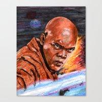 jedi Canvas Prints featuring Jedi by Morales