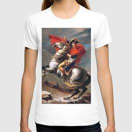 Jacques Louis David Napoleon Crossing the Alps T-shirt