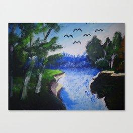 Egzotika Canvas Print