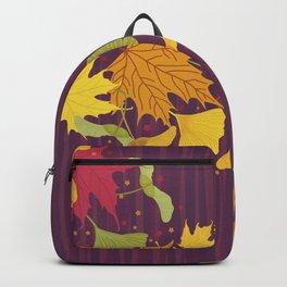 Maple Leaves Backpack