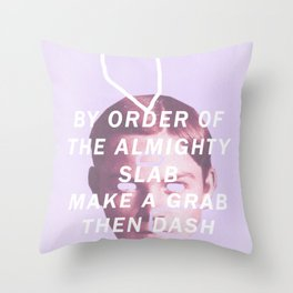 ALMIGHTY SLAB Throw Pillow
