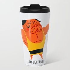 Flex Friday Metal Travel Mug