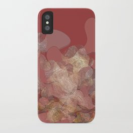 Lines on shape iPhone Case