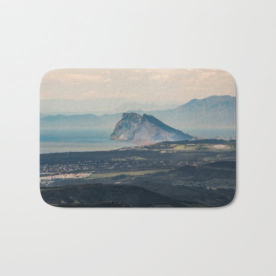 Rock of Gibraltar Bath Mat