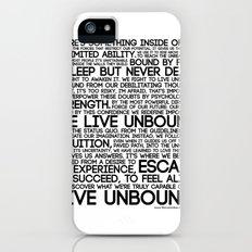 The Manifesto iPhone (5, 5s) Slim Case