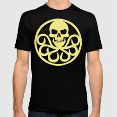 Hail Hydra LARGE Black Mens Fitted Tee