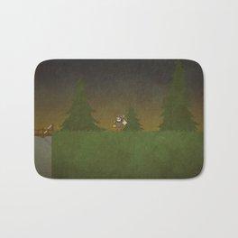Forest Scene Bath Mat