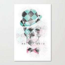 LDN Skull Canvas Print