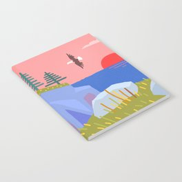 Bald Eagle Prince's Cove Eastport, Maine Notebook