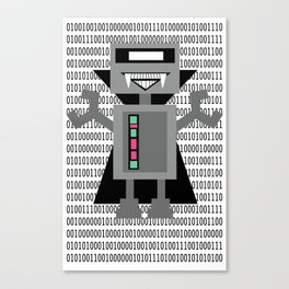 Vampire Robot - Zero & Ones (special Edition) Canvas Print