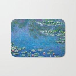 Claude Monet - Water Lilies Bath Mat
