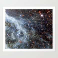 Magellanic cloud Art Print