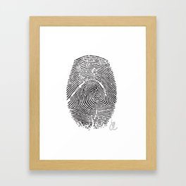 Be Your Authentic Self Framed Art Print