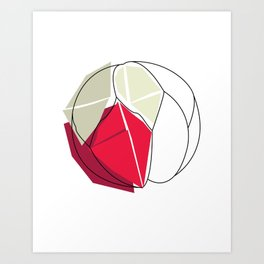 Cartacce Art Print