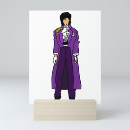 Purple Dove 1 Mini Art Print