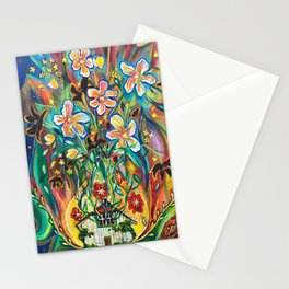 House in Bloom Stationery Cards