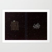 the mistake of the universe Art Print