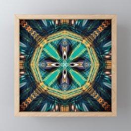 Southwestern Inspired Digital Designboho Framed Mini Art Print