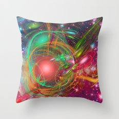 New Universe Throw Pillow