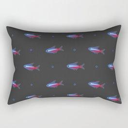 Cardinal tetra Rectangular Pillow