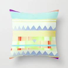 melted Throw Pillow