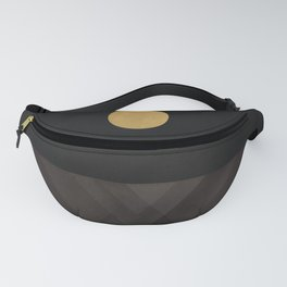 Moon Reflection on Quiet Ocean Fanny Pack