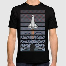 Gravity Mens Fitted Tee Black LARGE