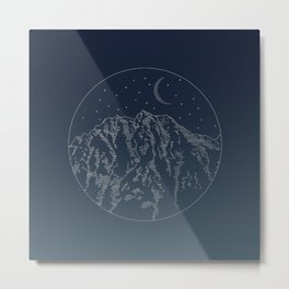 Mt. Stuart Metal Print