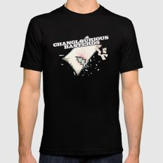 Changlourious Basterds Black Mens Fitted Tee MEDIUM