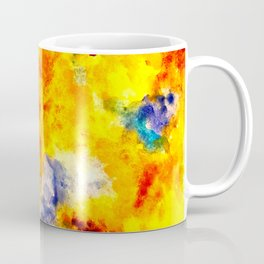 Yellow, Orange, Blue Coffee Mug
