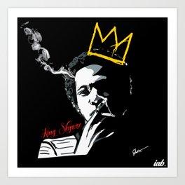 KING SKYWISE Art Print