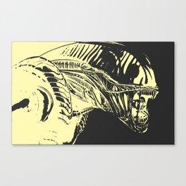 Aliens Colors Canvas Print