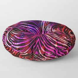 Colorful Lines Background - 28 Floor Pillow