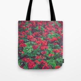 Geraniums Tote Bag