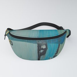 Who's looking? Blue version Fanny Pack
