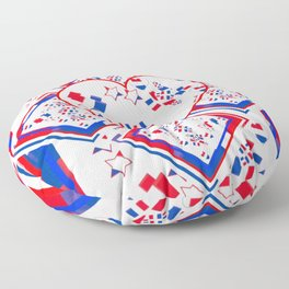 Patriotic Love Fest Floor Pillow