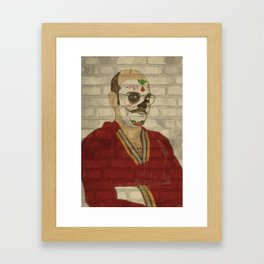 Tobias Graffiti Framed Art Print