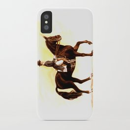 Horses and People No.2 iPhone Case
