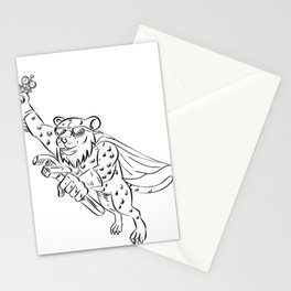 Cheetah Airconditioning and Refrigeration Mechanic Stationery Cards