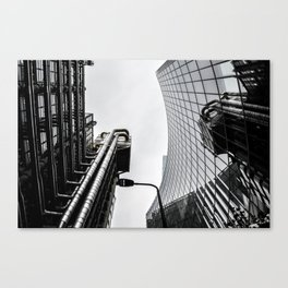 ArWork black white london art work photo Canvas Print