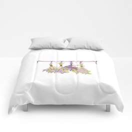 Herbs in Pastel Color #Unique Comforters
